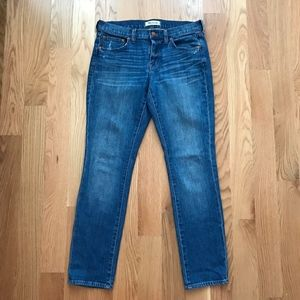 Madewell The Slim Boy Jeans Size 26